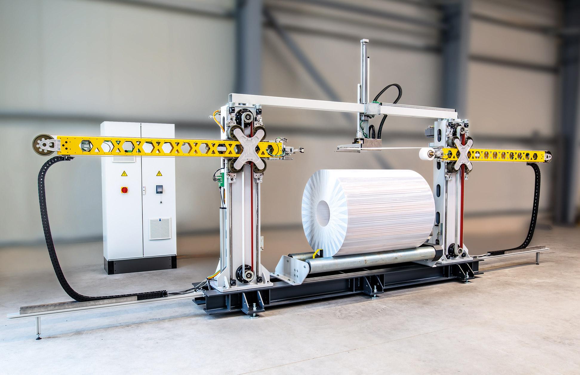 Diese Maschinen können individuell auf die Produktabmessungen und Anforderungen ausgelegt werden.
