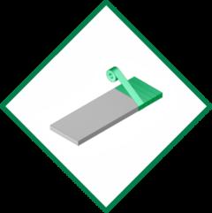 Stretchfolie Wickelmaschine für Plattenformate